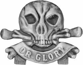 Death or Glory Pin