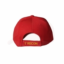 First Recon Red Division Hat