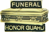Funeral Honor Guard Pin
