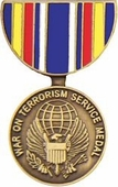 Global War On Terrorism Service Medal Pin