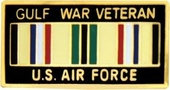 Gulf War Vet U.S. Air Force Pin