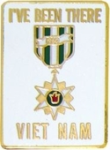 I've Been There...Vietnam Pin