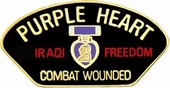 Iraqi Combat Wounded Pin
