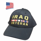 Iraqi Freedom Veteran Bar Made In USA Hat