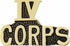 IV Corps Pin