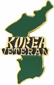 Korea Veteran Pin