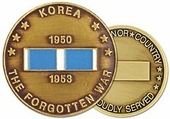 Korean War Veteran Challenge Coin