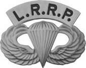 L.R.R.P. Jump Wings Pin
