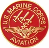 Marine Aviation Pin