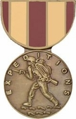 Marine Corps Expeditionary Medal Pin