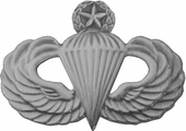 Master Paratroop Jump Wings Pin