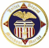 Merchant Marine Pin