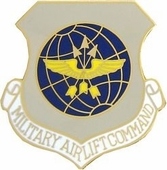 Military Airlift Command Pin