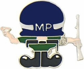 Military Police - MP Man - Pin