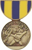 Naval Expeditionary Medal Pin