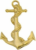 Navy Anchor Pin