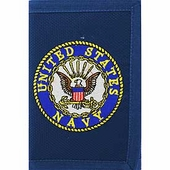 Navy Seal with Eagle Wallet