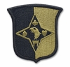OCP 101st Sustainment Brigade Army Patch Hook Fastener Back
