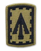 OCP 108th Air Defense Artillery Army Patch Hook Fastener Back
