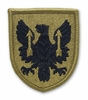OCP 11th Aviation Command Army Patch Hook Fastener Back