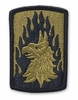 OCP 12th Aviation Bde Army Patch