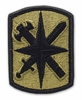 OCP 14th Military Police MP Brigade Army Patch Hook Fastener Back