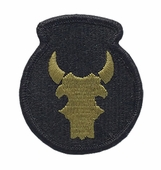 OCP 34th Infantry Red Bull Division Army Patch