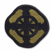 OCP 428th Field Artillery FA Brigade Army Patch Hook Fastener Back