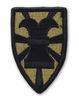 OCP 7th Transportation Brigade Army Patch Hook Fastener Back
