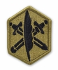 OCP 85th Civil Affairs Army Patch Hook Fastener Back