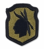 OCP 98th ARCOM Army Reserve Command Army Patch Hook Fastener Back