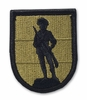 OCP Army National Guard Training Center Army Patch Hook Fastener Back