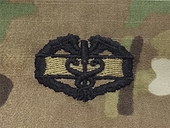 OCP Combat Medical 1st Award Army Badge Sew On