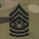 OCP Command Sergeant Major CSM E-9 Army Rank Sew On Pair for Cap