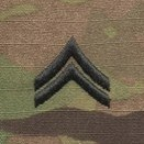OCP Corporal CPL E-4 Army Rank Sew On Pair for Cap