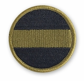 OCP FORSCOM US Army Forces Command Army Patch Hook Fastener Back