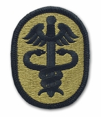 OCP Health Service Army Patch Hook Fastener Back
