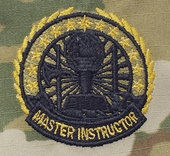 OCP Instructor Badge Master Army Badge Sew On