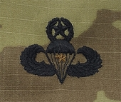 OCP Jump Wing Master Army Badge Sew On