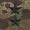OCP Major General MG O8 Army Rank Sew On Pair for Cap