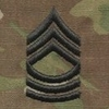OCP Master Sergeant MSG E-8 Army Rank Sew On Pair for Cap