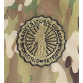 OCP National Guard Basic Army Badge Sew On