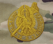 OCP Recruiter Gold Army Badge Sew On