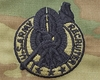OCP Recruiter Silver Army Badge Sew On