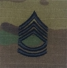 OCP Sergeant First Class SFC E-7 Army Rank 2x2 Hemmed Sew On