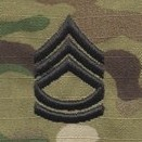 OCP Sergeant First Class SFC E-7 Army Rank Sew On Pair for Cap