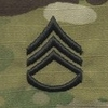 OCP Staff Sergeant SSG E-6 Army Rank Sew On Pair for Cap