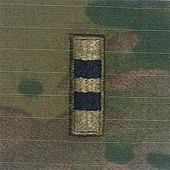 OCP W2 CWO Chief Warrant Officer 2 Army Rank 2x2 Hemmed Sew On
