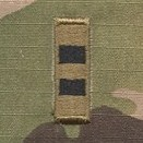 OCP W2 CWO Chief Warrant Officer 2 Army Rank Sew On Pair for Cap