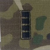 OCP W4 CWO Chief Warrant Officer 4 Army Rank 2x2 Hemmed Sew On